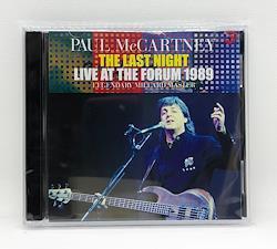 PAUL McCARTNEY/THE LAST NIGHT:LIVE AT THE FORUM 1989  - LEGENDARY MILLARD MASTER (2CDR)