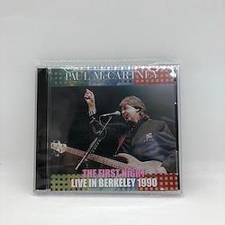 PAUL McCARTNEY - LIVE IN BERKELEY 1990 : THE FIRST NIGHT (2CDR)