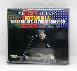 PAUL McCARTNEY - GET BACK IN L.A. - THREE NIGHTS AT THE FORUM 1989 (6CDR)