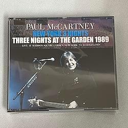 PAUL McCARTNEY - NEW YORK 3 NIGHTS - THREE NIGHTS AT THE GARDEN 1989 (6CDR)