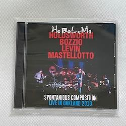 HoBoLeMa - HOLDSWORTH, BOZZIO, LEVIN, MASTELLOTTO - SPONTANIOUS COMPOSITION : LIVE IN OAKLAND 2010 (1CDR)