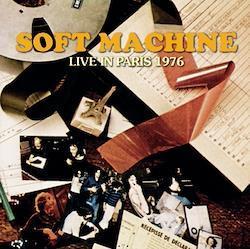SOFT MACHINE - LIVE IN PARIS 1976 (1CDR)