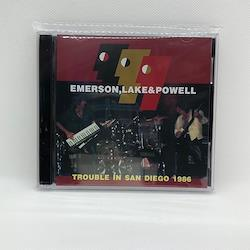 EMERSON, LAKE& POWELL - TROUBLE IN SAN DIEGO 1986 (2CDR)
