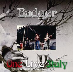 BADGER - ONE LIVE ITALY (1CDR)