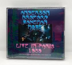 ANDERSON, BRUFORD, WAKEMAN, HOWE - LIVE IN PARIS 1989 (3CDR)