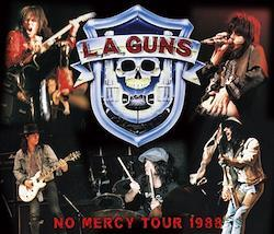 L.A. GUNS - NO MERCY TOUR 1988 (1CDR+2DVDR)