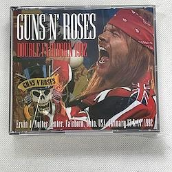 GUNS N' ROSES/DOUBLE FAIRBORN 1992(5CDR)