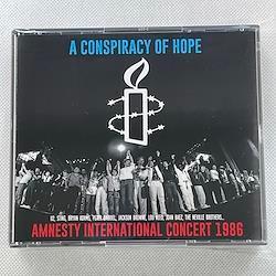 V.A. - A CONSPIRACY OF HOPE  AMNESTY INTERNATIONAL CONCERT 1986 (3CDR)