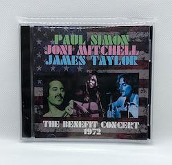 PAUL SIMON, JONI MITCHELL, JAMES TAYLOR - THE BENEFIT CONCERT 1972 (2CDR)