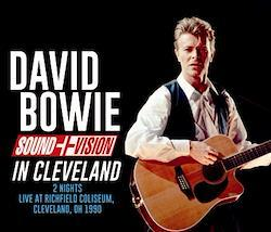 DAVID BOWIE - SOUND+VISION IN CLEVELAND (3CDR)