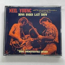 NEIL YOUNG with THE INTERNATIONAL HARVESTERS and CRAZY HORSE - DOWN UNDER LAST SHOW (3CDR)