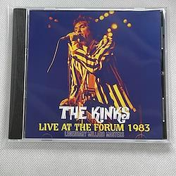 THE KINKS - LIVE AT THE FORUM 1983 : LEGENDARY MILLARD MASTERS (1CDR)