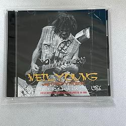 NEIL YOUNG with CRAZY HORSE  - LIVE IN A RUSTED OUT L.A. 1986 (2CDR)