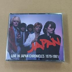 JAPAN - LIVE IN JAPAN CHRONICLES 1979-1981 (3CDR)