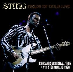 STING - FIELDS OF GOLD LIVE(1CDR+1DVDR)