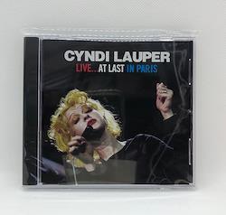 CYNDI LAUPER - LIVE...AT LAST IN PARIS (1CDR)