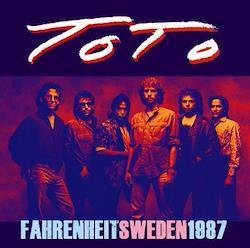 TOTO - FAHRENHEIT SWEDEN 1987 (1CDR)