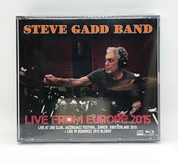 STEVE GADD BAND - LIVE FROM EUROPE 2015 (2CDR+1BDR)