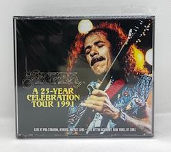 SANTANA - A 25-YEAR CELEBRATION TOUR 1991 (4CDR)
