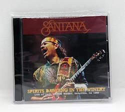 SANTANA - SPIRITS DANCING IN THE WINERY (2CDR)