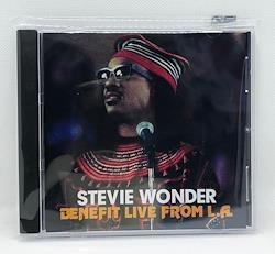 STEVIE WONDER/BENEFIT LIVE FROM L.A. (1CDR)