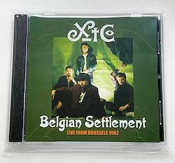 XTC - BELGIAN SETTLEMENT: LIVE FROM BRUSSELS 1982 (1CDR)