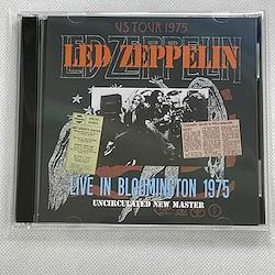 LED ZEPPELIN - LIVE IN BLOOMINGTON 1975 : UNCIRCULATED NEW MASTER (2CDR)