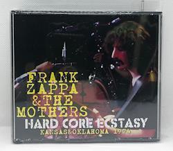 FRANK ZAPPA & THE MOTHERS - HARD CORE ECSTASY: KANSAS&OKLAHOMA 1974 (4CDR)