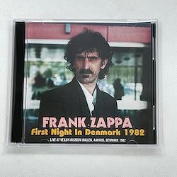 FRANK ZAPPA  - FIRST NIGHT IN DENMARK 1982 (2CDR)
