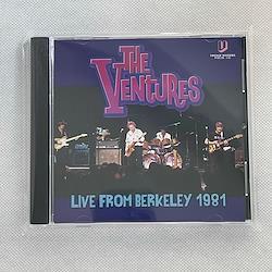 THE VENTURES - LIVE FROM BERKELEY 1981 (1CDR)