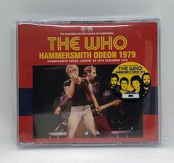 THE WHO - HAMMERSMITH ODEON 1979 (3CD)