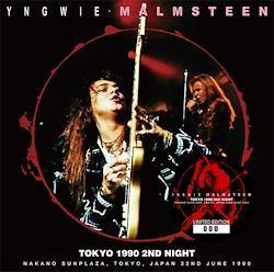 YNGWIE MALMSTEEN - TOKYO 1990 2ND NIGHT (2CD)