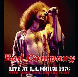 BAD COMPANY - LIVE AT L.A. FORUM 1976