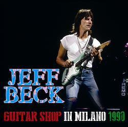 JEFF BECK - GUITAR SHOP IN MILANO 1990