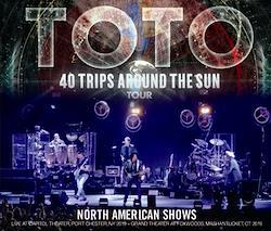 TOTO - NORTH AMERICAN SHOWS: 40 TRIPS AROUND THE SUN TOUR 2019 (4CDR)
