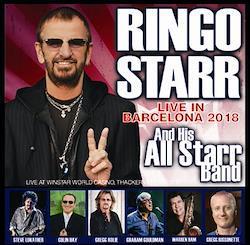 RINGO STARR - LIVE IN BARCELONA 2018