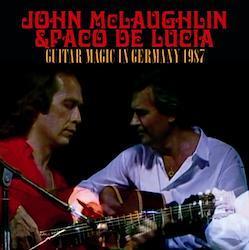 JOHN McLAUGHLIN & PACO DE LUCIA - GUITAR MAGIC IN GERMANY 1987 (2CDR)