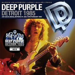 DEEP PURPLE  - DETROIT 1985 (2CD)