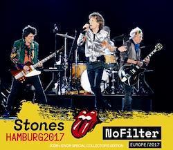 ROLLING STONES - NO FILTER TOUR - HAMBURG 2017 (2CDR+1DVDR)