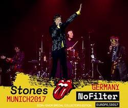 ROLLING STONES - NO FILTER TOUR -MUNICH, GERMANY 2017 (2CDR+1DVDR)