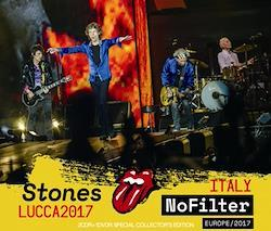 ROLLING STONES - NO FILTER TOUR - LUCCA, ITALY 2017 (2CDR+1DVDR)
