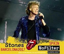 ROLLING STONES - NO FILTER TOUR: BARCELONA, SPAIN 2017 (2CDR+DVDR)