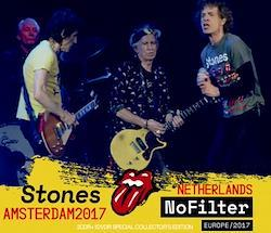 ROLLING STONES - NO FILTER TOUR: AMSTERDAM, THE (2CDR+1DVDR) NETHERLANDS 2017