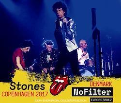 ROLLING STONES - NO FILTER TOUR: COPENHAGEN 2017 (2CDR+1DVDR)