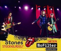ROLLING STONES - NO FILTER TOUR: STOCKHOLM, SWEDEN 2017 (2CDR+1DVDR)