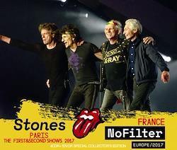 ROLLING STONES - NO FILTER TOUR: PARIS 1ST & 2ND SHOW 2017 (4CDR+1DVDR)