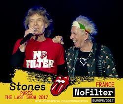 ROLLING STONES - NO FILTER TOUR: PARIS THE LAST SHOW 2017 (2CDR+DVDR)
