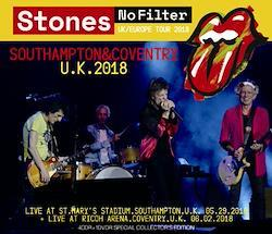 ROLLING STONES - NO FILTER TOUR 2018: SOUTHAMPTON & COVENTRY