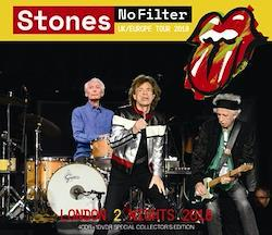 ROLLING STONES - NO FILTER TOUR: LONDON 2 NIGHTS 2018 (4CDR+1DVDR)