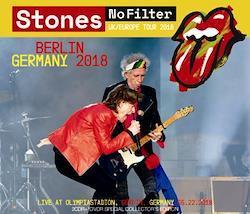 ROLLLING STONES - NO FILTER TOUR: BERLIN, GERMANY 2018 (2CDR+1DVDR)